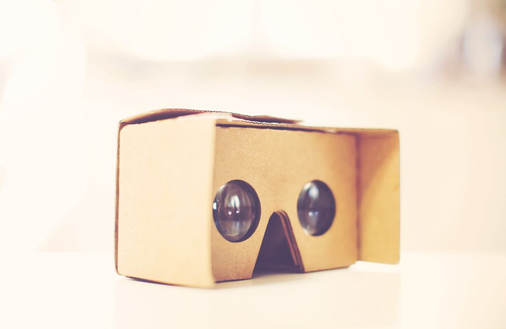 Google Cardboard is great for mass distribution